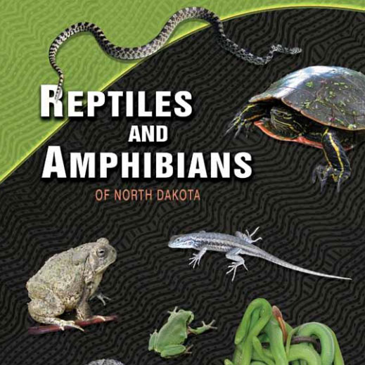Reptiles and Amphibians of North Dakota cover