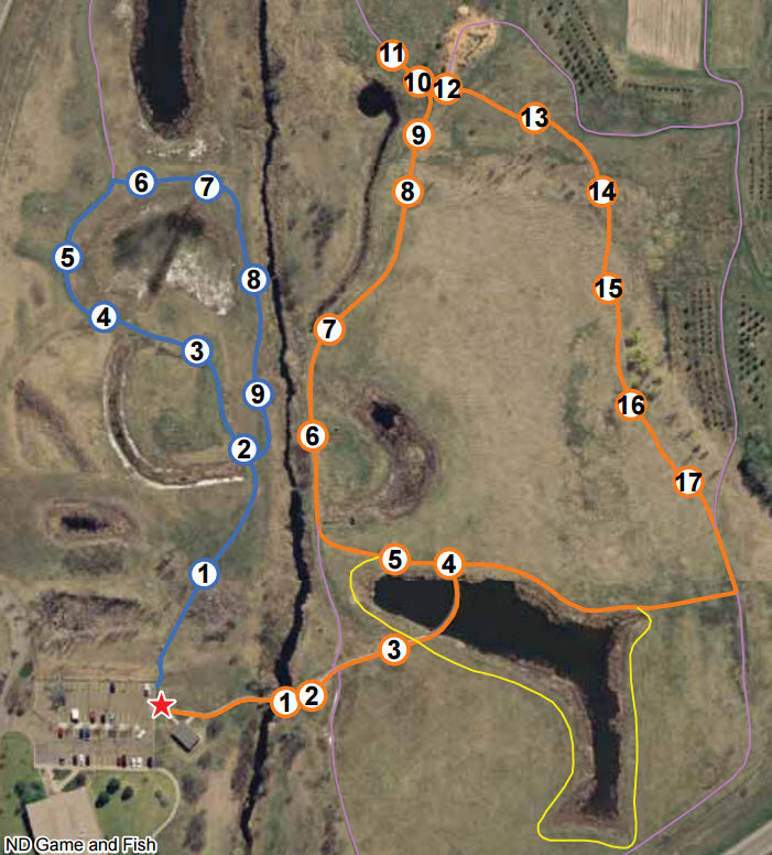 Bismarck conservation and outdoor skills area north for Fishing license nd