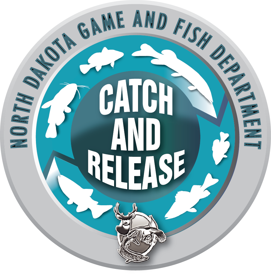 Catch and Release Sticker