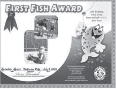 Image of first fish award