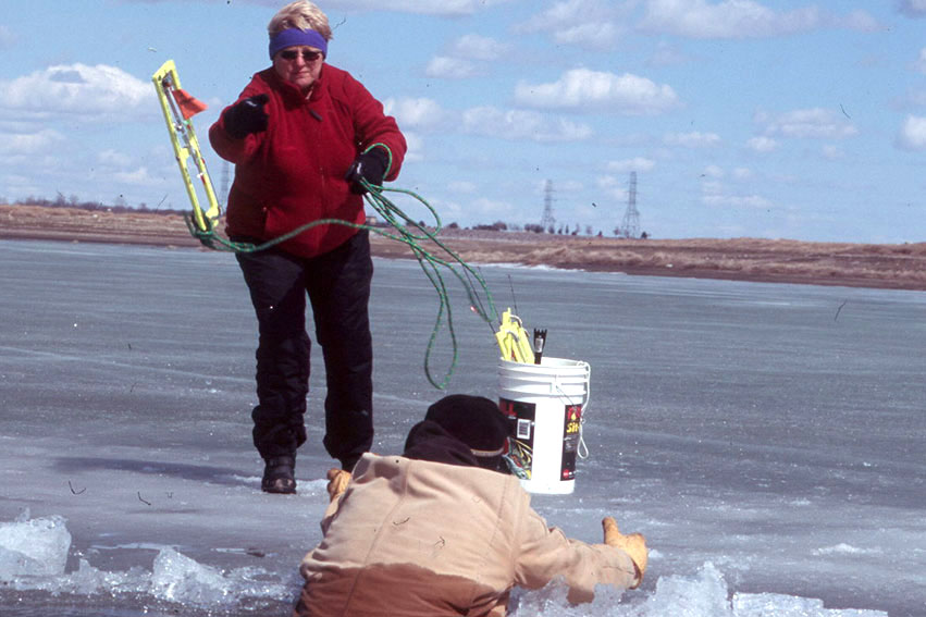 Ice safety north dakota game and fish for North dakota ice fishing