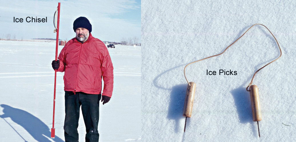 Ice picks and ice chisel