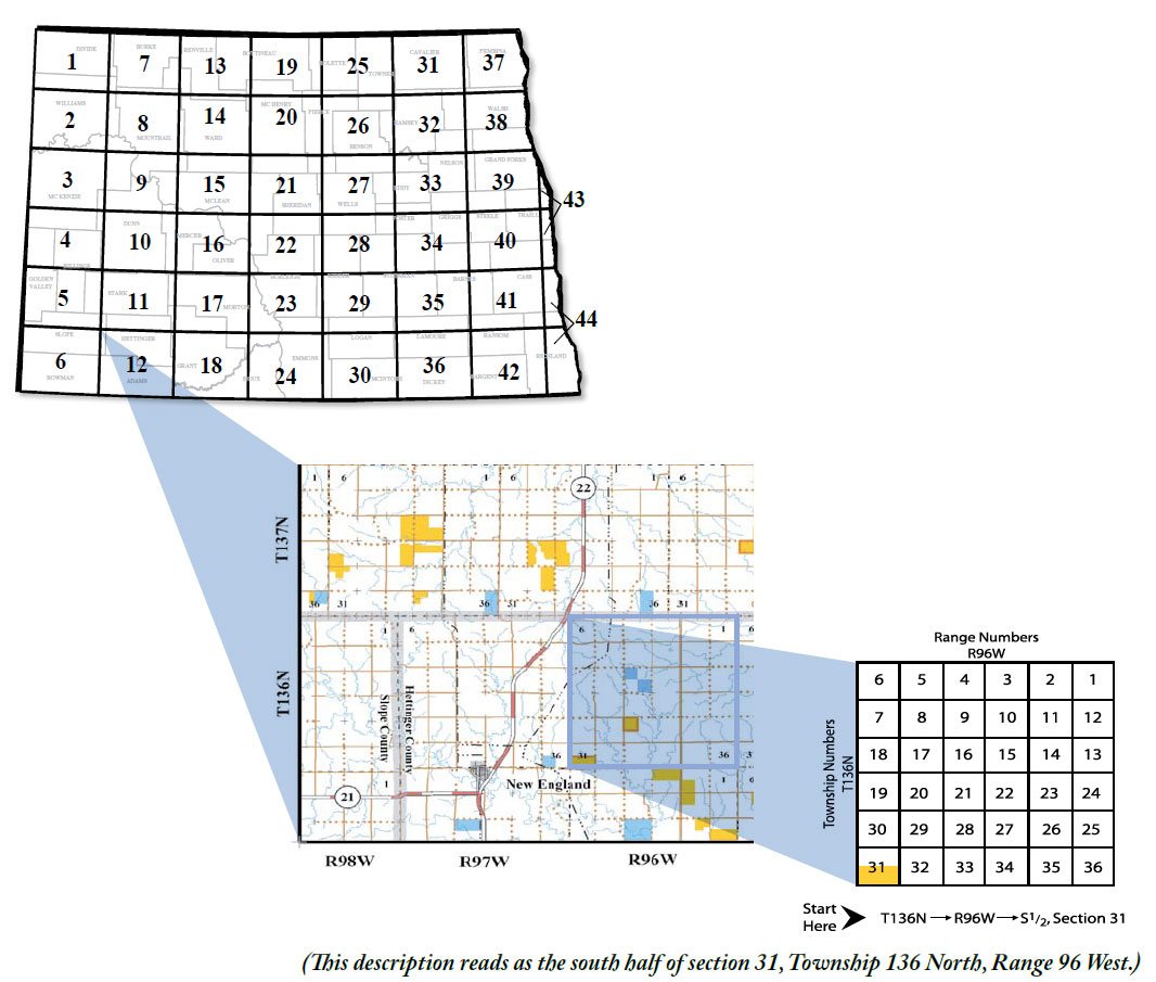 Nd Plots Map Using the Conservation PLOTS Guide | North Dakota Game and Fish Nd Plots Map