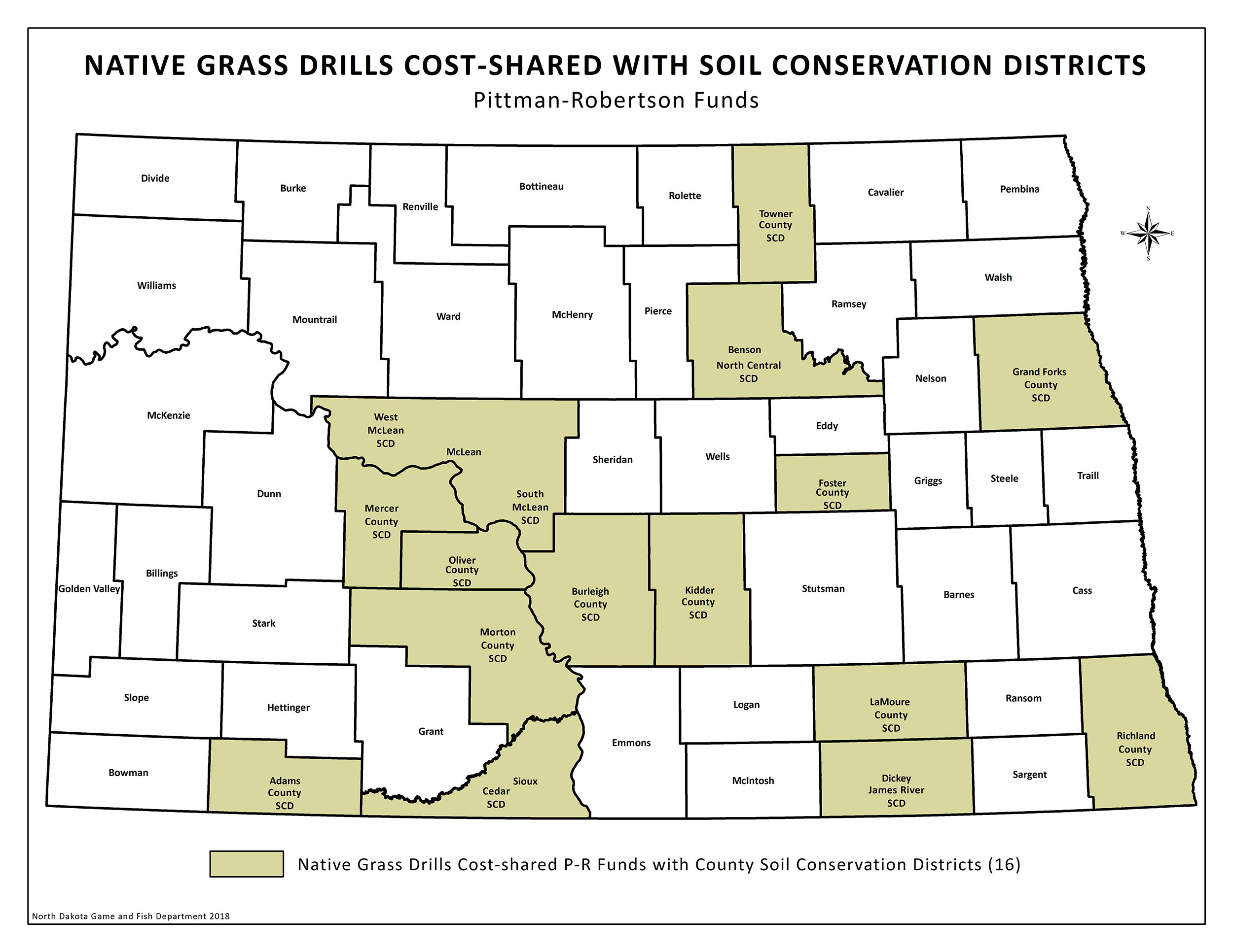 Grass Drill Map