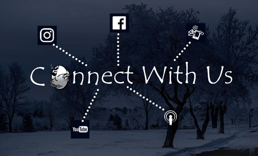 Connect with us graphic