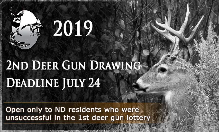 Deer lottery advertisement