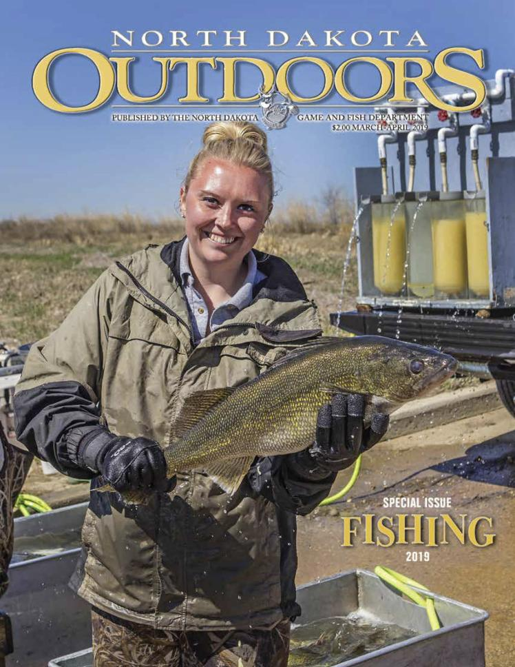 Cover March/April 2019 Edition of Outdoors